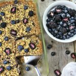 BERRY CRUMB CAKE - Old Fashioned Spelt Berry Crumb Cake with Quinoa