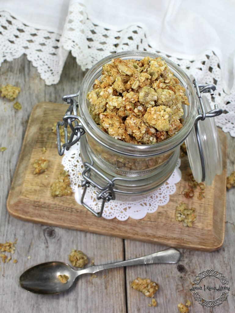 Crunchy Nut Free Granola with Seeds