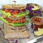 BBQ Jackfruit Sandwich