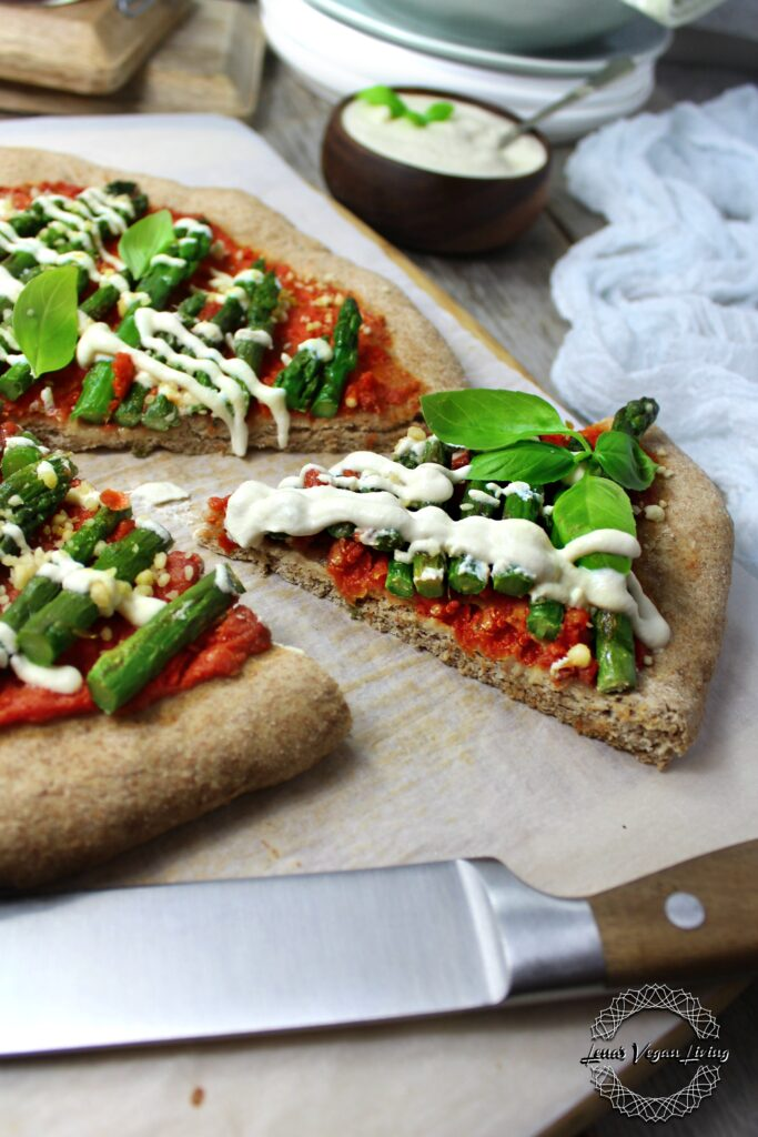 Healthy Spelt Pizza