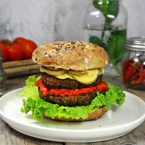 Lentil – Quinoa Burger