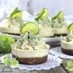 Key Lime Mini Cheesecakes