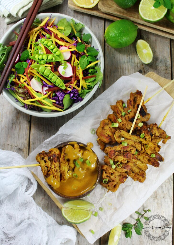 Vegan Chick'n Satay