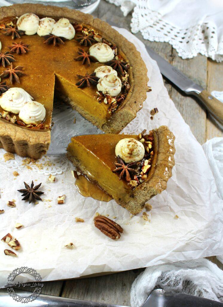 Festive Pumpkin Tart