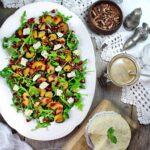 grilled-acorn-squash-salad